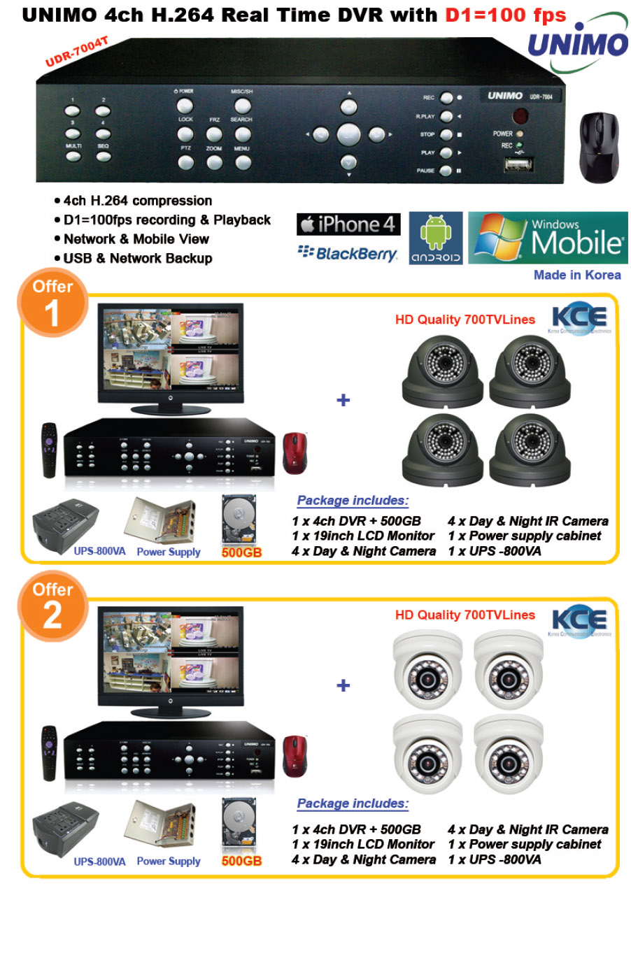 CCTV Security Offer