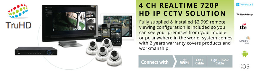 TRUHD Rounded Cameras Package